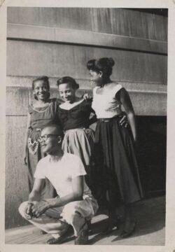 African American siblings, early 1900s